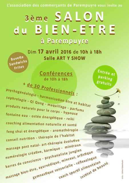 Salon du bien tre de parempuyre 17 avril 2016 soin2soi for Salon du bien etre perigueux